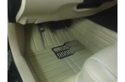 Коврики из экокожи Cadillac SRX бежевые