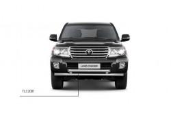 Защита переднего бампера двойная Ø63/63 мм Toyota LC200 2013-