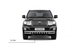 Защита переднего бампера Ø63/51 мм Toyota Land Cruiser 200 2013-