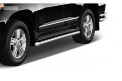 Защита порогов Ø51 мм Toyota Land Cruiser 200
