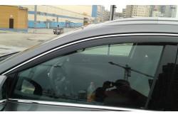 Дефлекторы боковых окон с хромированным молдингом Kia Sorento Prime