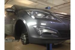 Подкрылки Hyundai Solaris