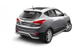Защита заднего бампера Ø51 мм Hyundai ix35
