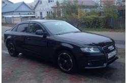 Дефлекторы окон Audi A4 B8 седан