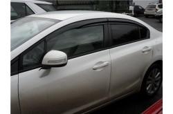 Дефлекторы окон Mugen Honda Civic 9 4D