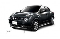 Защита переднего бампера одинарная Ø63 мм Nissan Juke