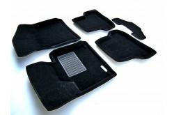Текстильные 3D коврики Хонда Аккорд 8