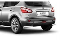 Защита заднего бампера Ø63мм уголки Nissan Qashqai