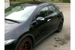 Дефлекторы боковых окон Mugen Honda Civic VIII хэтчбек 3дв
