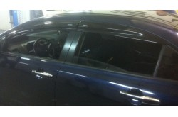 Дефлекторы окон Mugen Honda Civic седан VIII 2006-2011