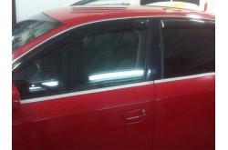 Дефлекторы окон Audi A4 B7 седан