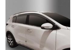 Дефлекторы боковых окон Kia Sportage QL 2016