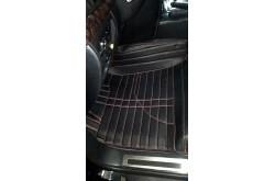 Коврики из экокожи Toyota LandCruiser 200 черные