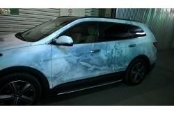 Пороги Hyundai Grand Santa Fe