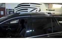 Дефлекторы окон с хромированным молдингом Volvo XC90 I