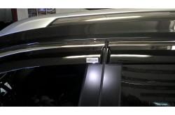 Дефлекторы окон с металлизированным молдингом X-Trail T32
