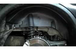 Подкрылки Mitsubishi Outlander 3
