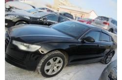 Дефлекторы боковых окон Audi A6 C7 седан