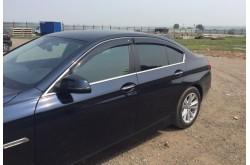 Дефлекторы окон BMW 5 F10 седан