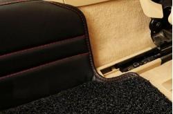Коврики из экокожи Volvo XC90 бежевые