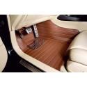 Коврики из экокожи Honda CR-V 3 коричневые
