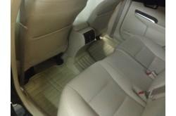 Коврики из экокожи Honda CRV III бежевые
