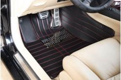 Коврики из экокожи Honda CR-V 3 черные