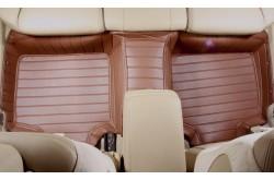 Коврики из экокожи Honda CRV IV коричневые