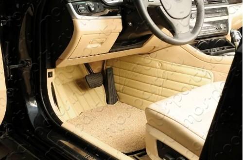 Коврики из экокожи Honda Accord 8 с подкладкой