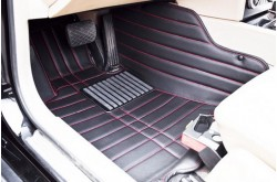 Коврики из экокожи Toyota Highlander 2 черные