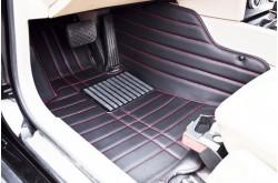 Коврики из экокожи Toyota LC Prado 150 черные