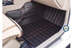 Коврики из экокожи Mitsubishi ASX черные